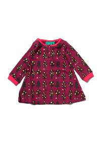 "Robe ""Terrain de jeu"" - coton bio - Automn forest LITTLE GREEN RADICALS"