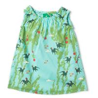 Robe légère - coton bio - Under the Willow LITTLE GREEN RADICALS