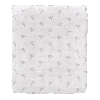 Lot de 2 grands langes - Renards bleus - coton bio (120x120)